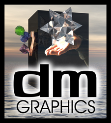 daniel mauk logo for graphic designer